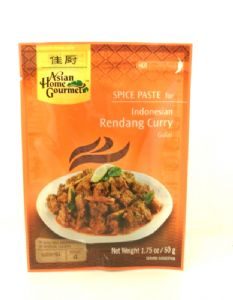 AHG Rendang Curry Paste | Buy Online at the Asian Cookshop
